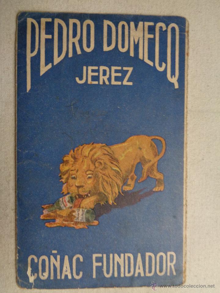 CALENDARIO DE FUTBOL 1945-46,COÑAC FUNDADOR.47020 (Coleccionismo Deportivo - Documentos de Deportes - Calendarios)