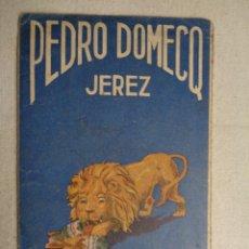 Coleccionismo deportivo: CALENDARIO DE FUTBOL 1945-46,COÑAC FUNDADOR.47020. Lote 55021363