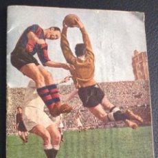Coleccionismo deportivo: CALENDARIO DE LIGA 1ª Y 2ª DIVISION TEMPORADA 1952-1953 . Lote 55152408