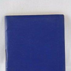 Coleccionismo deportivo: CALENDARIO / ANUARIO DINÁMICO DE FÚTBOL. AÑO 1968-69 - AZUL - MEDIDAS 12 X 9 CM. Lote 55816605
