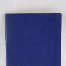 Coleccionismo deportivo: CALENDARIO / ANUARIO DINÁMICO DE FÚTBOL. AÑO 1969-70 - AZUL - MEDIDAS 12 X 9 CM. Lote 55816621