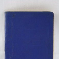 Coleccionismo deportivo: CALENDARIO / ANUARIO DINÁMICO DE FÚTBOL. AÑO 1965-66 - AZUL - MEDIDAS 12 X 9 CM. Lote 55816667