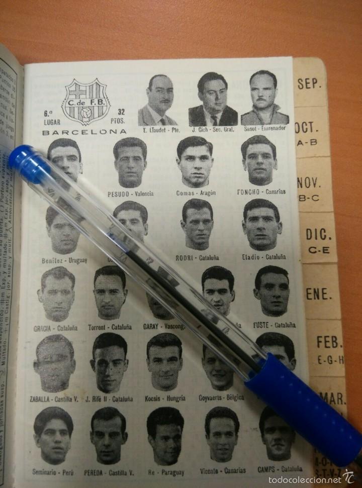 Coleccionismo deportivo: LIBRO CALENDARIO DE FUTBOL 1965 - 1966, CON NUMEROSAS FOTOGRAFIAS DE TODOS LOS EQUIPOS, DINAMICO - Foto 4 - 55916838
