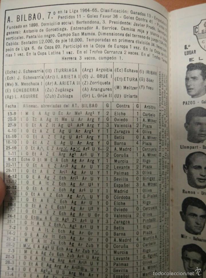 Coleccionismo deportivo: LIBRO CALENDARIO DE FUTBOL 1965 - 1966, CON NUMEROSAS FOTOGRAFIAS DE TODOS LOS EQUIPOS, DINAMICO - Foto 5 - 55916838