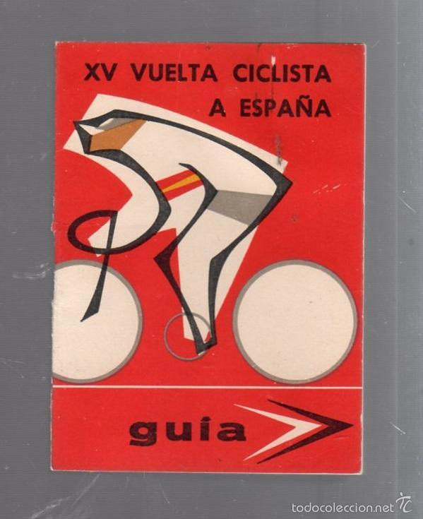 GUIA. XV VUELTA CICLISTA A ESPAÑA. 1960. VER (Coleccionismo Deportivo - Documentos de Deportes - Calendarios)