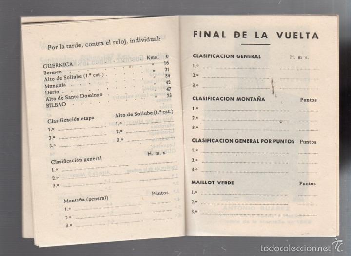 Coleccionismo deportivo: GUIA. XV VUELTA CICLISTA A ESPAÑA. 1960. VER - Foto 3 - 56440640