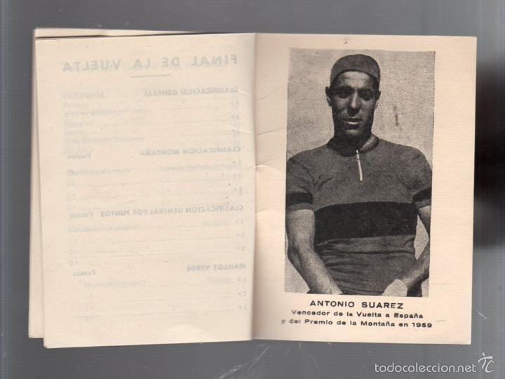 Coleccionismo deportivo: GUIA. XV VUELTA CICLISTA A ESPAÑA. 1960. VER - Foto 5 - 56440640