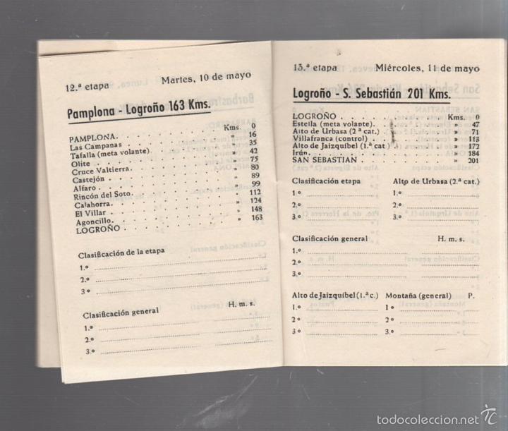 Coleccionismo deportivo: GUIA. XV VUELTA CICLISTA A ESPAÑA. 1960. VER - Foto 7 - 56440640