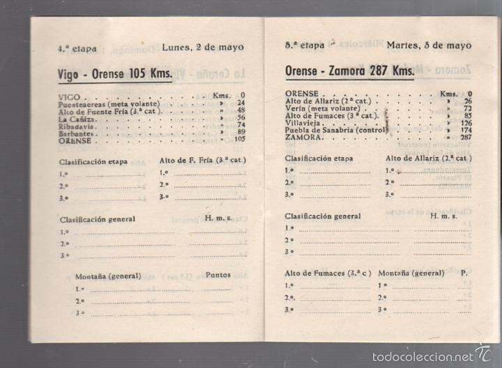 Coleccionismo deportivo: GUIA. XV VUELTA CICLISTA A ESPAÑA. 1960. VER - Foto 12 - 56440640