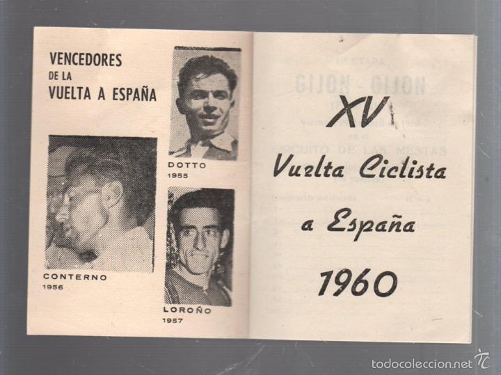 Coleccionismo deportivo: GUIA. XV VUELTA CICLISTA A ESPAÑA. 1960. VER - Foto 15 - 56440640