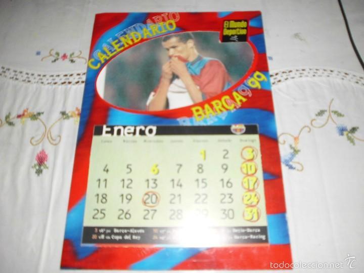 Calendario Del Barca.Calendario Barca 99