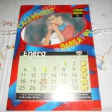 Coleccionismo deportivo: CALENDARIO BARÇA 99. Lote 56845370