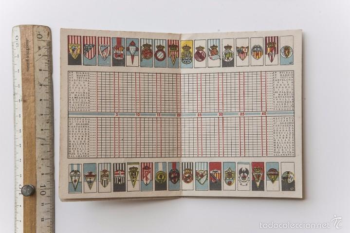 Coleccionismo deportivo: CALENDARIO DEL CAMPEONATO DE NACIONAL LIGA DE 1951 - 1952 - Foto 4 - 57316419