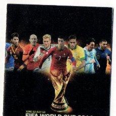 Coleccionismo deportivo: CALENDARIO DEPORTIVO. MUNDIAL 2014 BRASIL.. Lote 57493514