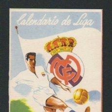 Coleccionismo deportivo: CALENDARIO Y RESULTADOS DE LIGA DE PRIMERA DIVISIÓN.TEMPORADA 1954-1955.. Lote 57799944