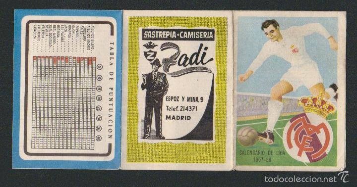 Coleccionismo deportivo: Calendario y resultados de liga de primera-segunda división.Temporada 1957-1958. - Foto 4 - 57800147