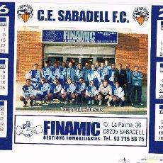 Coleccionismo deportivo: CALENDARIO DE MESA CE SABADELL 2006. Lote 58551531