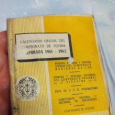 Coleccionismo deportivo: GUIA CALENDARIO LIGA DE FÚTBOL 1961-62. Lote 58592701