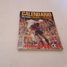 Coleccionismo deportivo: CALENDARIO