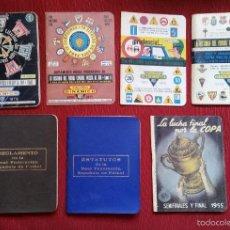 Coleccionismo deportivo: GOM-1676_LOTE DINÁMICOS, REGLAMENTO Y ESTATUTOS. Lote 59603591