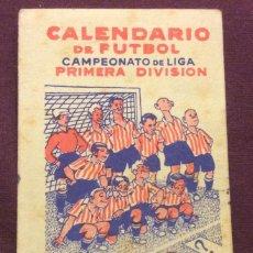 Coleccionismo deportivo - CALENDARIO DE FUTBOL CAMPEONATO DE LIGA PRIMERA DIVISION. 1947-48 - 61109399
