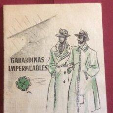 Coleccionismo deportivo - CALENDARIO CAMPEONATO DE LIGA 1947-48. PUBLICIDAD EL TREBOL. BARCELONA - 61189967
