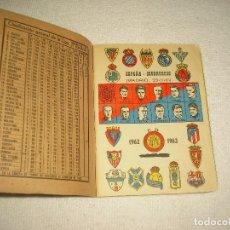 Coleccionismo deportivo: DINAMICO 1962 1963. Lote 61575232