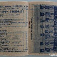 Coleccionismo deportivo: ATLETICO C. D. PUERTO MALAGUEÑO MALAGA. TEMPORADA 1967 1968. CALENDARIO FUTBOL LIGA. CON FOTOGRAFÍAS. Lote 61867388