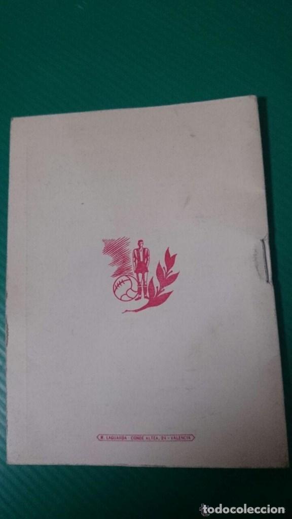 Coleccionismo deportivo: CALENDARIO DEL QUINIELISTA LIGA 1954-55 OBSEQUIO DIPUTACION DE VALENCIA. 40 PAGINAS PASTA DURA - Foto 4 - 62051144