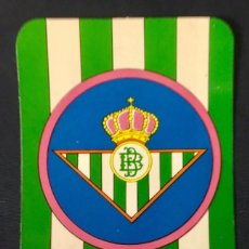 Coleccionismo deportivo: CALENDARIO PUBLICIDAD FUTBOL REAL BETIS 1976 ALMACENES COVADONGA. Lote 63374516