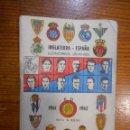 Coleccionismo deportivo: FÚTBOL, CALENDARIO DINÁMICO 1960-61. RESULTADOS, CLASIFICACIONES,FOTOS DE LOS JUGADORES. BUEN ESTADO. Lote 63485664