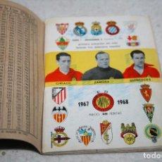 Coleccionismo deportivo: CALENDARIO DINÁMICO TEMPORADA 67-68 ORIGINAL CON TAPAS. Lote 63767211
