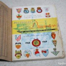 Coleccionismo deportivo: CALENDARIO DINÁMICO TEMPORADA 68-69 ORIGINAL CON TAPAS. Lote 63767283