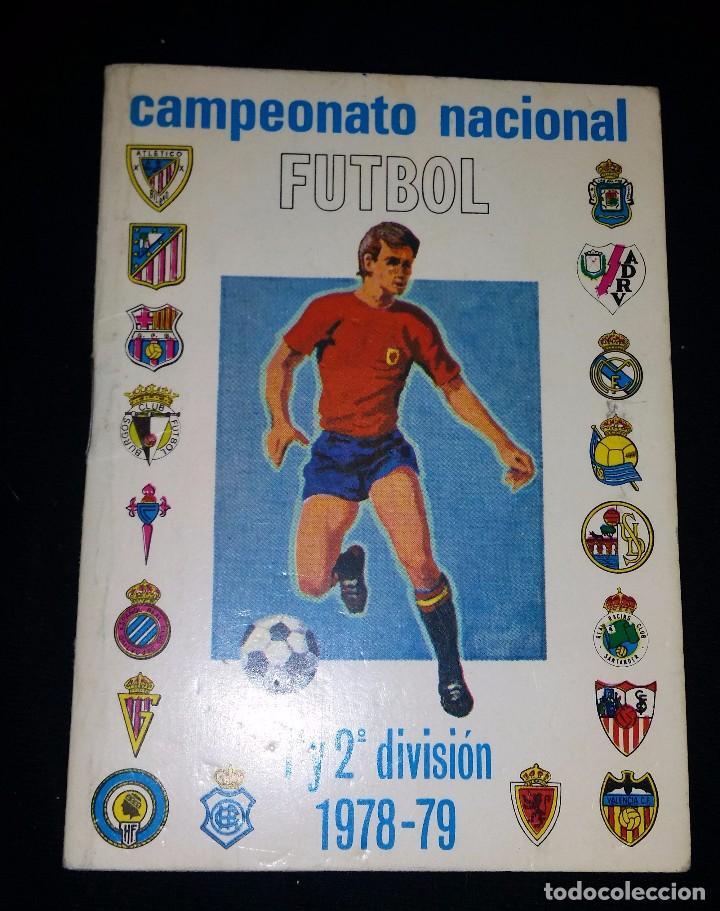 Calendario De Segunda Division De Futbol.Calendario Nacional De Futbol Liga 78 79 Primera Y Segunda Division