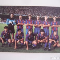 Collectionnisme sportif: CALENDARIO ORIGINAL FUTBOL CLUB BARCELONA 1992 DREAM TEAM MUY BUEN ESTADO. Lote 68016993