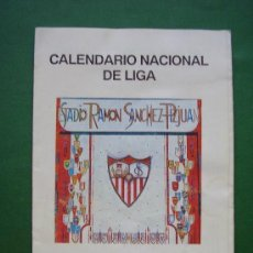 Coleccionismo deportivo: SEVILLA F C . CALENDARIO NACIONAL DE LIGA TEMPORADA 1996-97. Lote 68070133