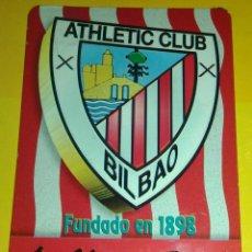 Coleccionismo deportivo: CALENDARIO ATHLETIC BILBAO. Lote 69807621