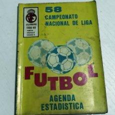 Coleccionismo deportivo: AGENDA ESTADÍSTICA FÚTBOL - 58 CAMPEONATO NACIONAL DE LIGA - CALENDARIO 1988 / 1989. Lote 70045933
