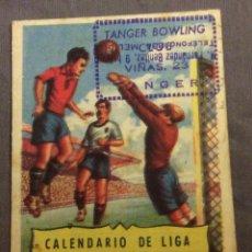 Coleccionismo deportivo: CALENDARIO DE LIGA 1ª Y 2ª DIVISION. TEMPORADA 1953-54.. Lote 70173877