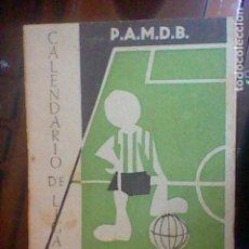 Coleccionismo deportivo: CALENDARIO LIGA 1955 56 ECXMA DIPUTACION PONTEVEDRA . Lote 70314661
