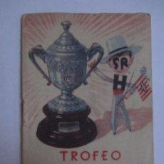 Coleccionismo deportivo: CALENDARIO ESTADISTICO LIGA ESPAÑOLA 1945-1946 RELLENADO. Lote 72447347