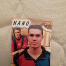 Coleccionismo deportivo: CALENDARIO DE BOLSILLO F.C. BARCELONA 99-00, BARÇA 1999-2000 AÑO 2000: NANO MACEDO. Lote 73591939