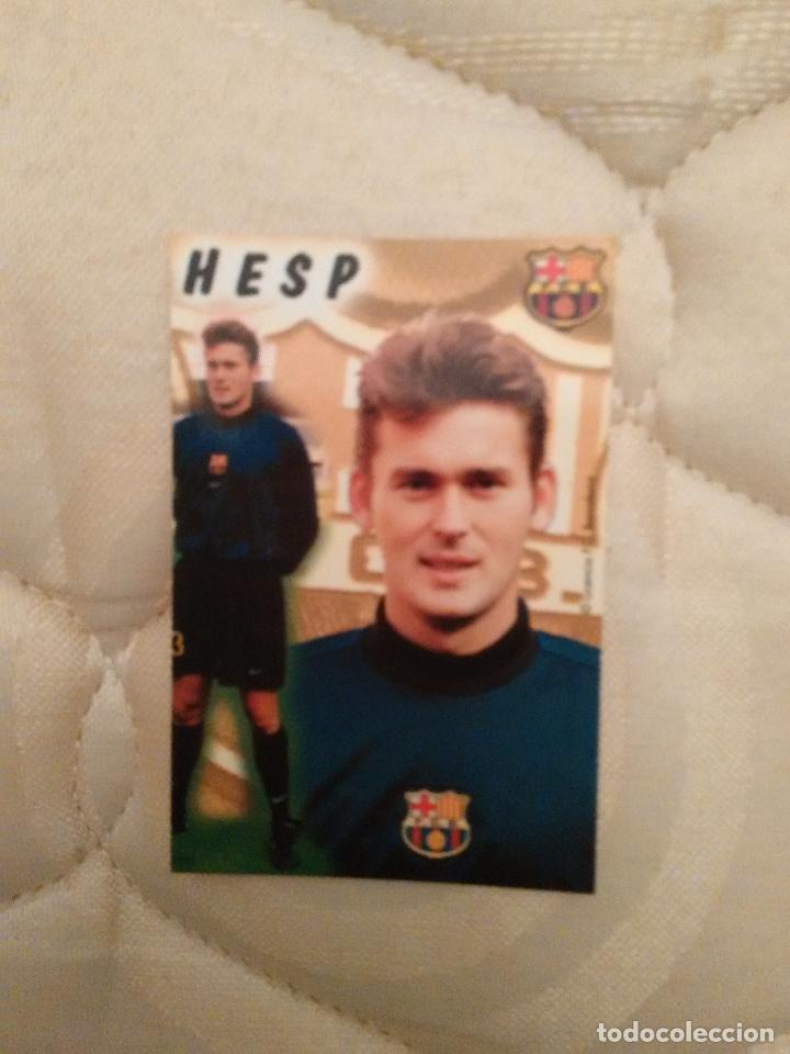 CALENDARIO DE BOLSILLO F.C. BARCELONA 99-00, BARÇA 1999-2000, AÑO 2000: RUUD HESP (Coleccionismo Deportivo - Documentos de Deportes - Calendarios)