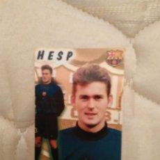 Coleccionismo deportivo: CALENDARIO DE BOLSILLO F.C. BARCELONA 99-00, BARÇA 1999-2000, AÑO 2000: RUUD HESP. Lote 73592071