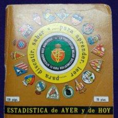 Coleccionismo deportivo: CALENDARIO CAMPEONATO FUTBOL. LIGA 1981-1982. CON FOTOS DE LOS JUGADORES DE EQUIPOS. DINAMICO.. Lote 75894883