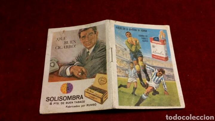 CALENDARIO LIGA AÑO 1967 AÑO 1968 CON PUBLICIDAD DE SOLISOMBRA (Coleccionismo Deportivo - Documentos de Deportes - Calendarios)