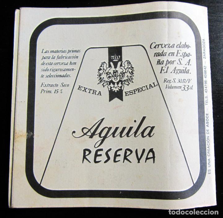 Coleccionismo deportivo: CALENDARIO MUNDIAL FUTBOL ESPAÑA 1982 CERVEZAS EL AGUILA EXTRA RESERVA FIFA WOLRD CUP FOOTBALL 82 - Foto 2 - 76803839