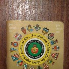 Coleccionismo deportivo: CALENDARIO DINAMICO TEMPORADA 1982 / 1983 - FUTBOL. Lote 119467148