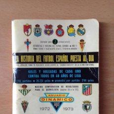Coleccionismo deportivo: FUTBOL - ANUARIO DINAMICO 1971-1972. Lote 79186097