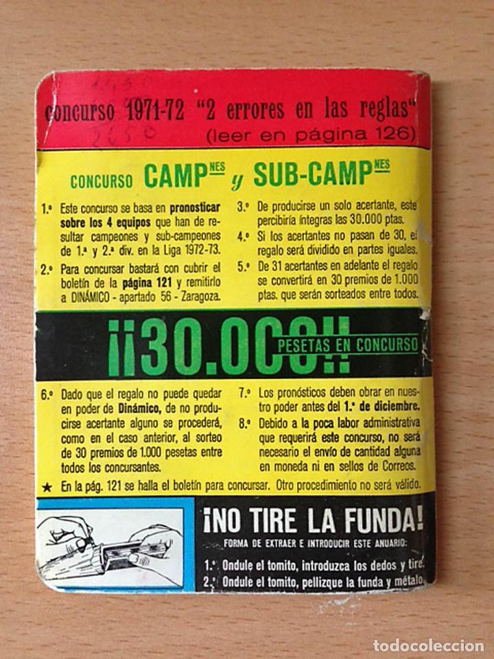 Coleccionismo deportivo: FUTBOL - ANUARIO DINAMICO 1971-1972 - Foto 2 - 79186097